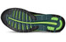 asics fuzeX Shoe Men Black/Silver/Green Gecko